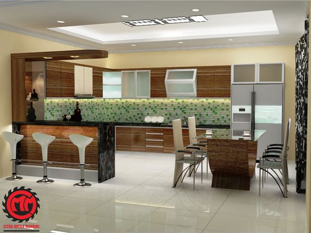 Dapur bersih for Kitchen set mewah